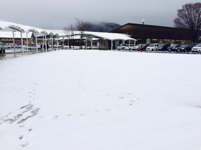 ようこそ雪の信州へ