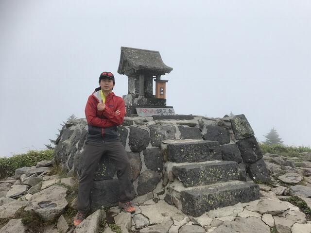 根子岳(標高2207m)~四阿山(標高2354m)