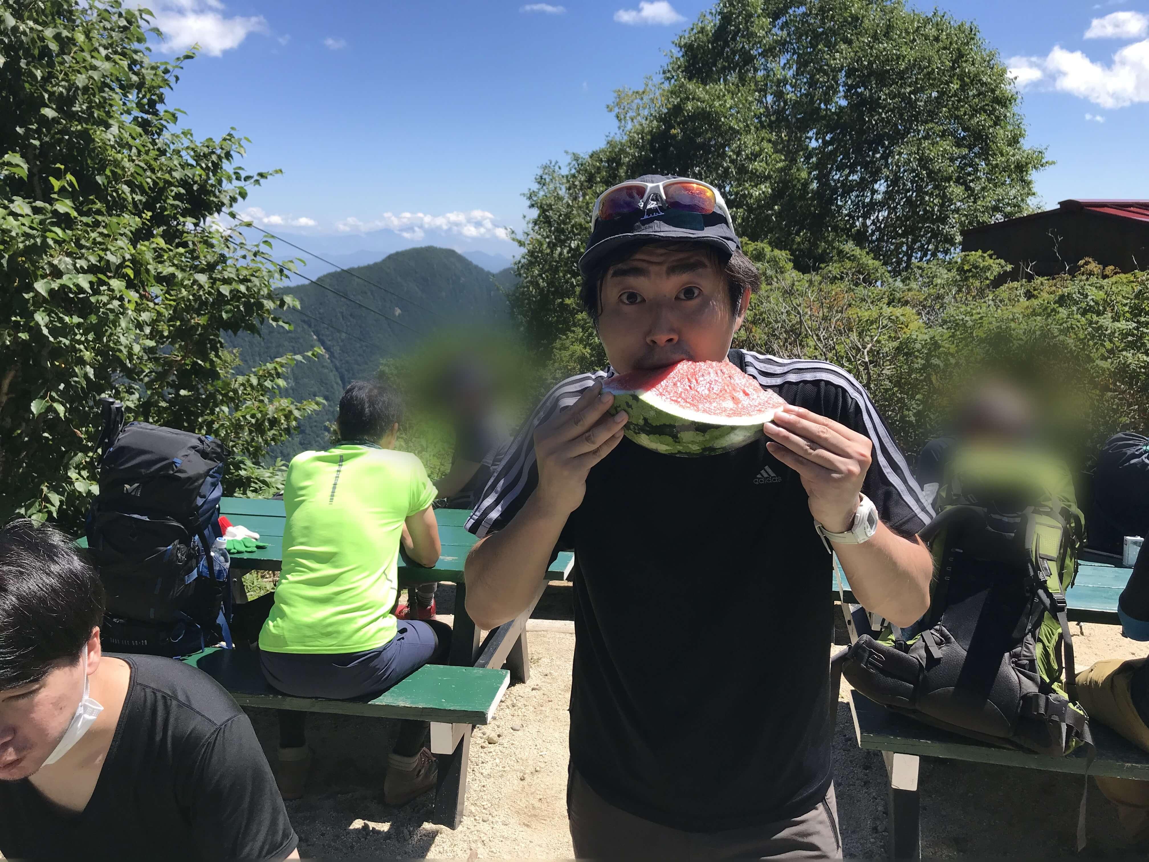 燕岳(標高2763m) (吉田)