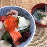 「海鮮丼と鯛のあら汁」  2015年12月5日放送