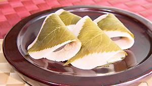 桜餅(麗子センセーの信州大好きCooking)