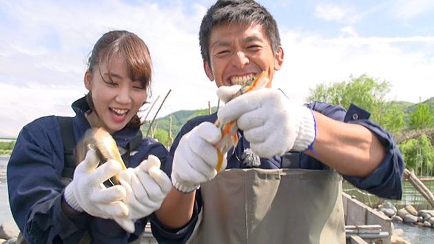 旬食ハンター!~山と川の恵み~(駅テレ)