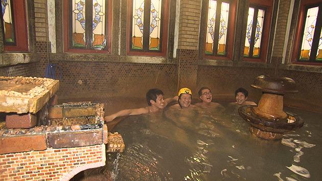 金具屋 浪漫風呂|超レトロ温泉ツアー!~平成最後の年末の男子温泉同好会~