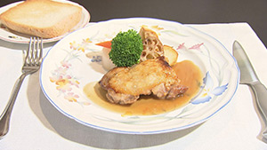 信州ハーブ鶏のロースト ソースソジャー(ラトリエ・スズキ)