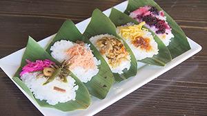 妙高名物 笹寿司(四季菜館 ひだなん)|麗子センセーと行く!夏を満喫する上越キャンプの旅