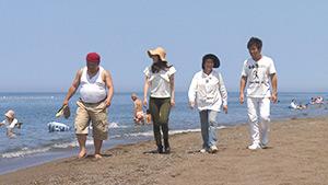 鵜の浜海水浴場|麗子センセーと行く!夏を満喫する上越キャンプの旅