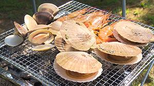 海鮮 BBQ|麗子センセーと行く!夏を満喫する上越キャンプの旅
