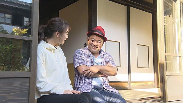 粂屋(小諸市)ヤポンスキー こばやし画伯・大槻アナ|リニューアル老舗旅館