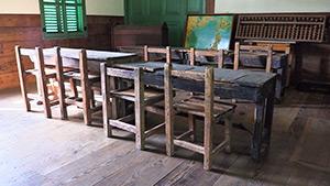 もっと!信州77「坂城町編」|旧格致学校校舎 教室