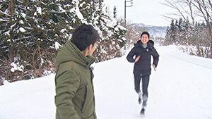 三四六・稲垣貴大アナウンサー|信州1年目稲垣アナと行く 北信濃で雪見ツアー