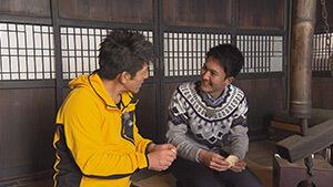 古民家の囲炉裏でおやき作り体験|信州1年目稲垣アナと行く 北信濃で雪見ツアー