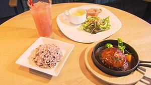 ハンバーグセット|e cafe(イーカフェ)