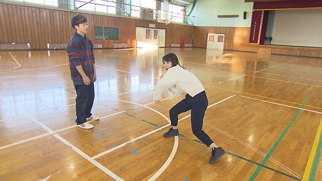大槻アナ ダンスバトル|ミライへ!信州新世代 ~豊かな個性と創造力あふれる野沢南高校~
