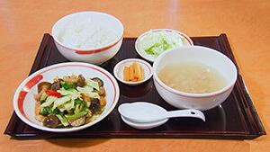きりん定食(中国四川料理きりん)
