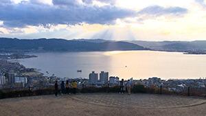 諏訪湖 松坂三四六の最後の旅