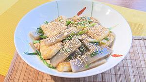 「豆腐とこんにゃくの甘辛煮」