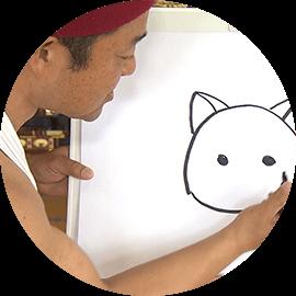 ネコのえかきうた・ヤポンの絵描き歌