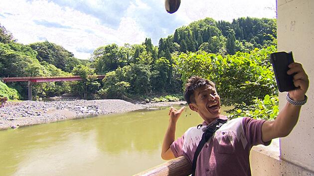 千曲川と信濃川の境目|シルバーウィーク突入!秋色の信州ぐるっと列車旅