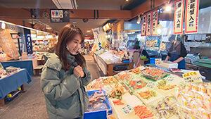 七尾フィッシャーマンズ・ワーフ 能登食祭市場|北陸新幹線と花嫁のれん列車でGO!カニと温泉 旬食 能登の旅