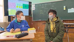 震災翌日に生まれた子・栄村立栄小学校|震災から10年~栄村を訪ねて~