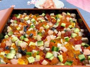 「お祝い海鮮ちらし寿司」2021年3月20日放送