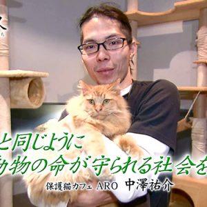 第33回 保護猫カフェ ARO(アロ) 中澤祐介(1月6日金曜 夜6時55分)
