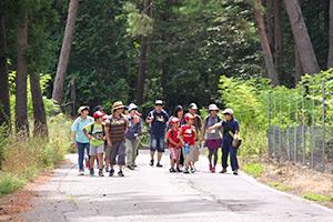 森林探検ツアー