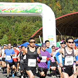 第8回おんたけ湖ハーフマラソン(11月23日 金曜・祝 午前11時)