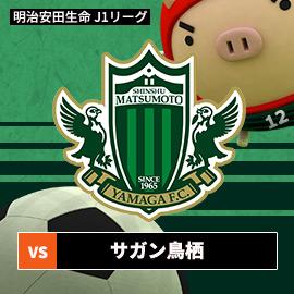 2019J1リーグ 松本山雅FC vs サガン鳥栖(4月20日 土曜 午後1時55分)