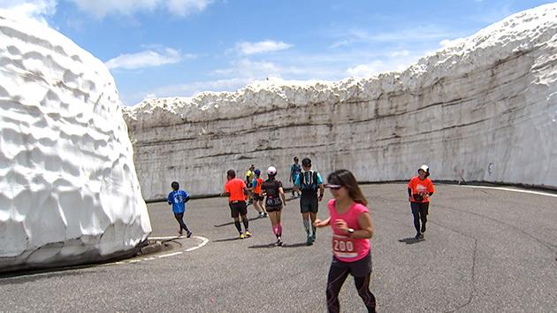 雪壁を駆け抜ける 第14回乗鞍天空マラソン(8月3日 土曜 午後3時放送)