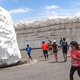 雪壁を駆け抜ける 第14回乗鞍天空マラソン(8月3日 土曜 午後3時)