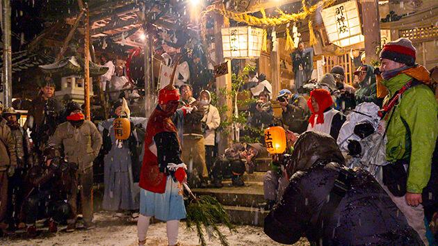 「新・にほん風景遺産」南信州 秘境 新野の雪祭り ~奇祭!極寒の夜を徹し舞う~(2020年3月1日 日曜 午前10時)