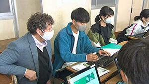 英語ネイティブの先生に学ぶグラーバルスタディ 長野県上田高等学校120周年記念「いざ百難に試みむ」~グローバル人材の育成をめざして~