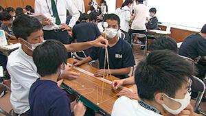 デザインシンキングのマシュマロチャレンジ 長野県上田高等学校120周年記念「いざ百難に試みむ」~グローバル人材の育成をめざして~
