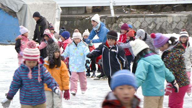 秋宮スケートリンク 日本のスケート競技は諏訪地域から始まった!