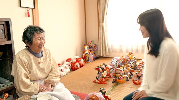 五代目の西原久美江さん 春を告げる 中野土人形