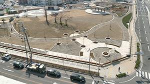 長野駅東口公園|長野駅東口をぶらり