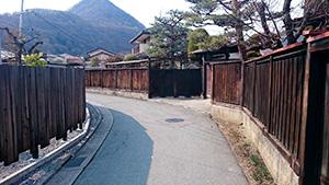 妻科地区 板塀|長野市の原点・妻科をぶらり