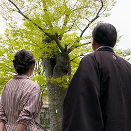 長野市の原点・妻科をぶらり(5月18日 土曜 午前10時45分)