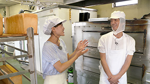 三水製パン直売所 パン職人の金子さん|こだわりのパン職人 信州の食パン
