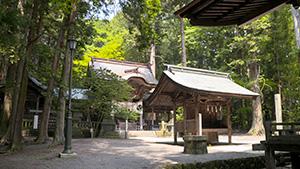 矢彦神社|境目だらけの町・辰野を行く
