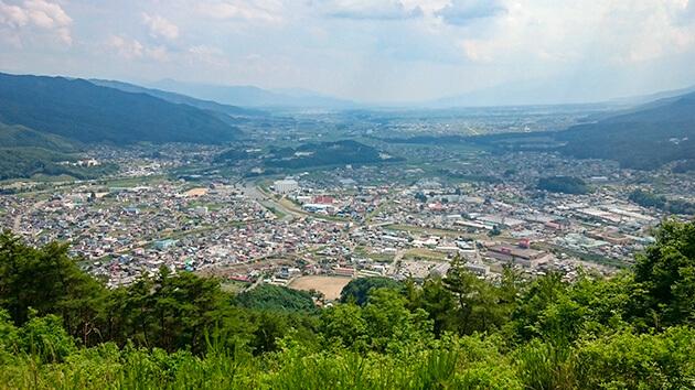 辰野町景観|境目だらけの町・辰野を行く