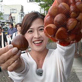 信州の美味しい秋 小布施の栗(11月2日 土曜 午前10時45分)