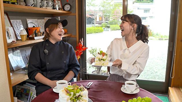大槻アナ・TEMO.jp atelier shop パティシエ 小林恵梨子|信州産フルーツを美味しく!美しく!
