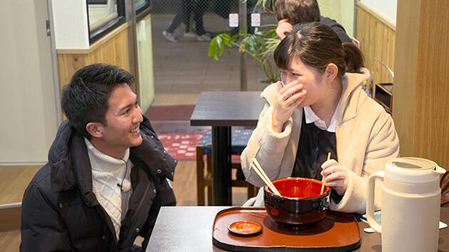 密着!長野駅前の年越しそば(1月11日 土曜 午前10時45分)