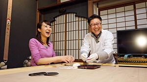 中野アナ あめづくり体験|受け継がれる 城下町のあめ文化