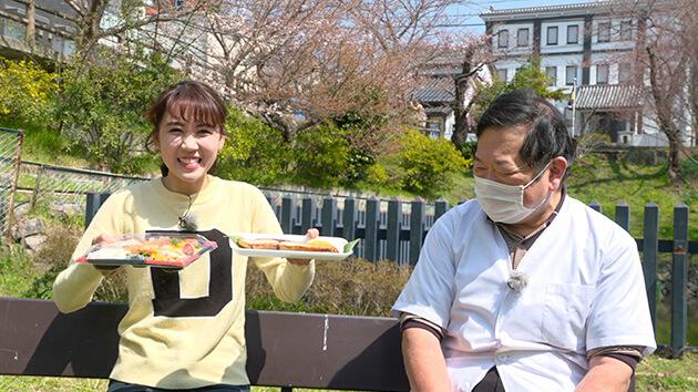 大槻瞳アナウンサー・魚万汲田 愛され続ける まちの鮮魚店