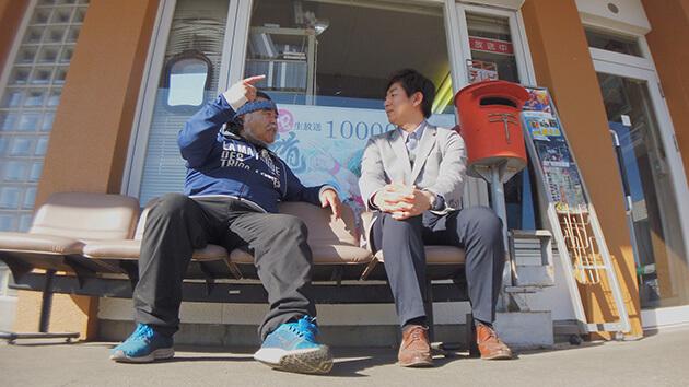 吉田一平アナウンサー・テレビ西軽 石川伸一 まちの記録係はミニマム放送局