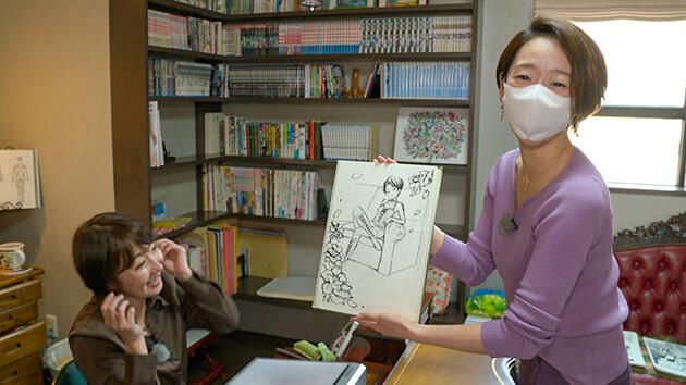 千葉桜恒美の自宅アトリエ 信州発の漫画を楽しもう