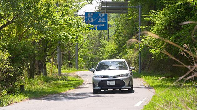 草田敏彦アナウンサー はんにちドライブ 県道210号 西伊那線を行く